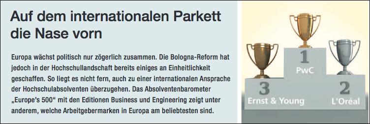 Personalmagazin - Auf internationalem Parkett